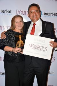 Chef Jorge Enrique Martínez y su esposa Sonia Villarraga.