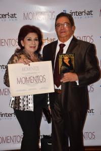Héctor Villegas y su esposa Olga de Villegas (Foto Santhos Moreno).