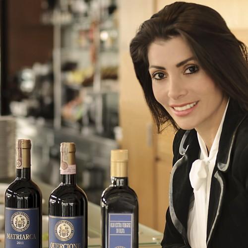 Angélica Ospina, una empresaria que distribuye  VINOS DEL MUNDO PARA EL MUNDO