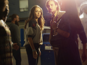 Alycia Debnam Carey as Alicia  and Frank Dillane as Nick - Fear the Walking Dead _ Season 1, Gallery - Photo Credit: Frank Ockenfels 3/AMC