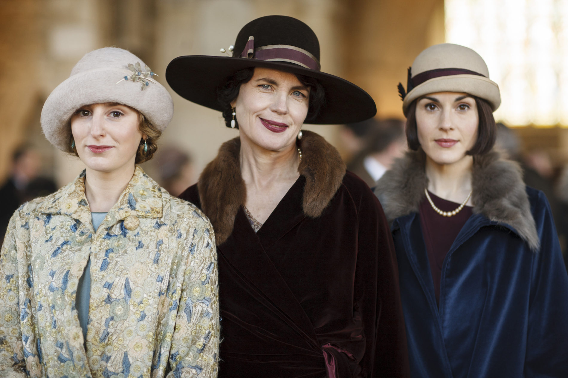 """MÁS ESTILO Y MODALES EN DOWNTON ABBEY"""