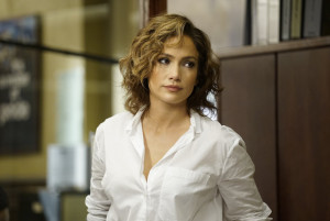 "SHADES OF BLUE -- ""Who Is It That Can Tell Me Who I Am"" Episode 104 -- Pictured: Jennifer Lopez as Det. Harlee Santos -- (Photo by: Peter Kramer/NBC)"