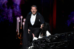 NEW YORK, NY - JUNE 12:  Host James Corden performs onstage during the 70th Annual Tony Awards at The Beacon Theatre on June 12, 2016 in New York City.  (Photo by Theo Wargo/Getty Images for Tony Awards Productions)