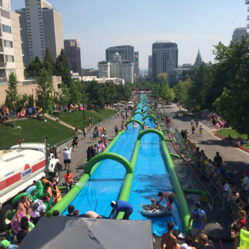 SLIDE THE CITY LLEGA A COLOMBIA