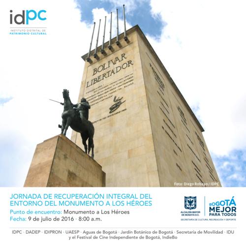 Jornada de recuperación integral del entorno del Monumento a los Héroes