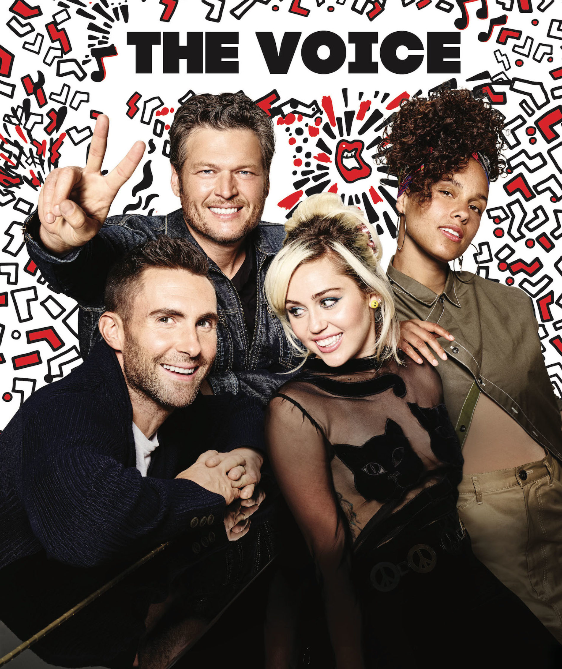 Miley Cyrus llega a The Voice