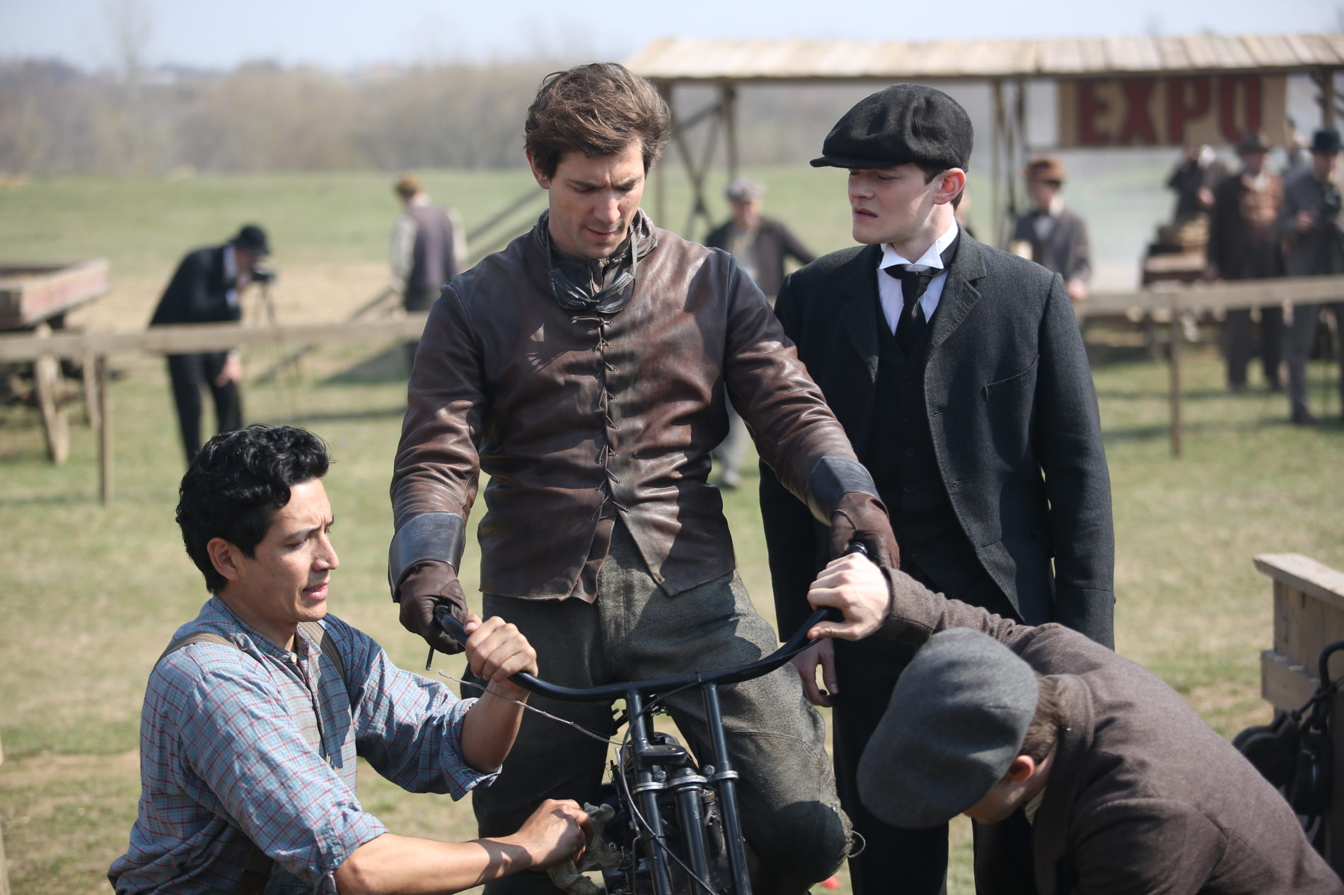 Discovery Channel incursiona en el mundo de las miniseries con Harley and the Davidsons