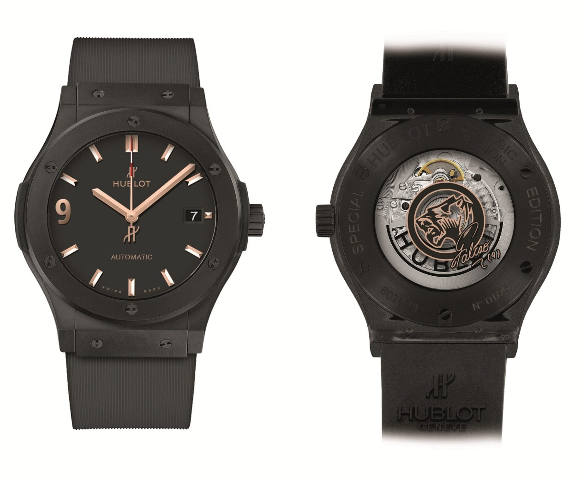 Hublot presenta una nueva edición del reloj inspirado en Falcao