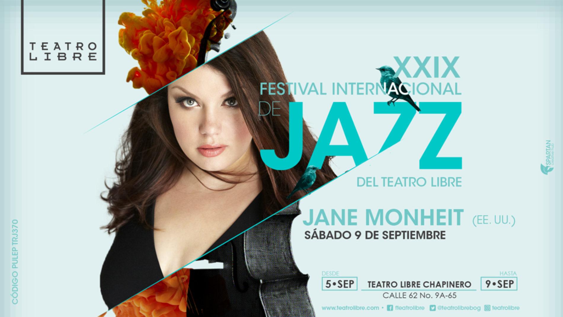 Está activa la PREVENTA para el XXIX Festival Internacional de Jazz de Bogotá del Teatro Libre