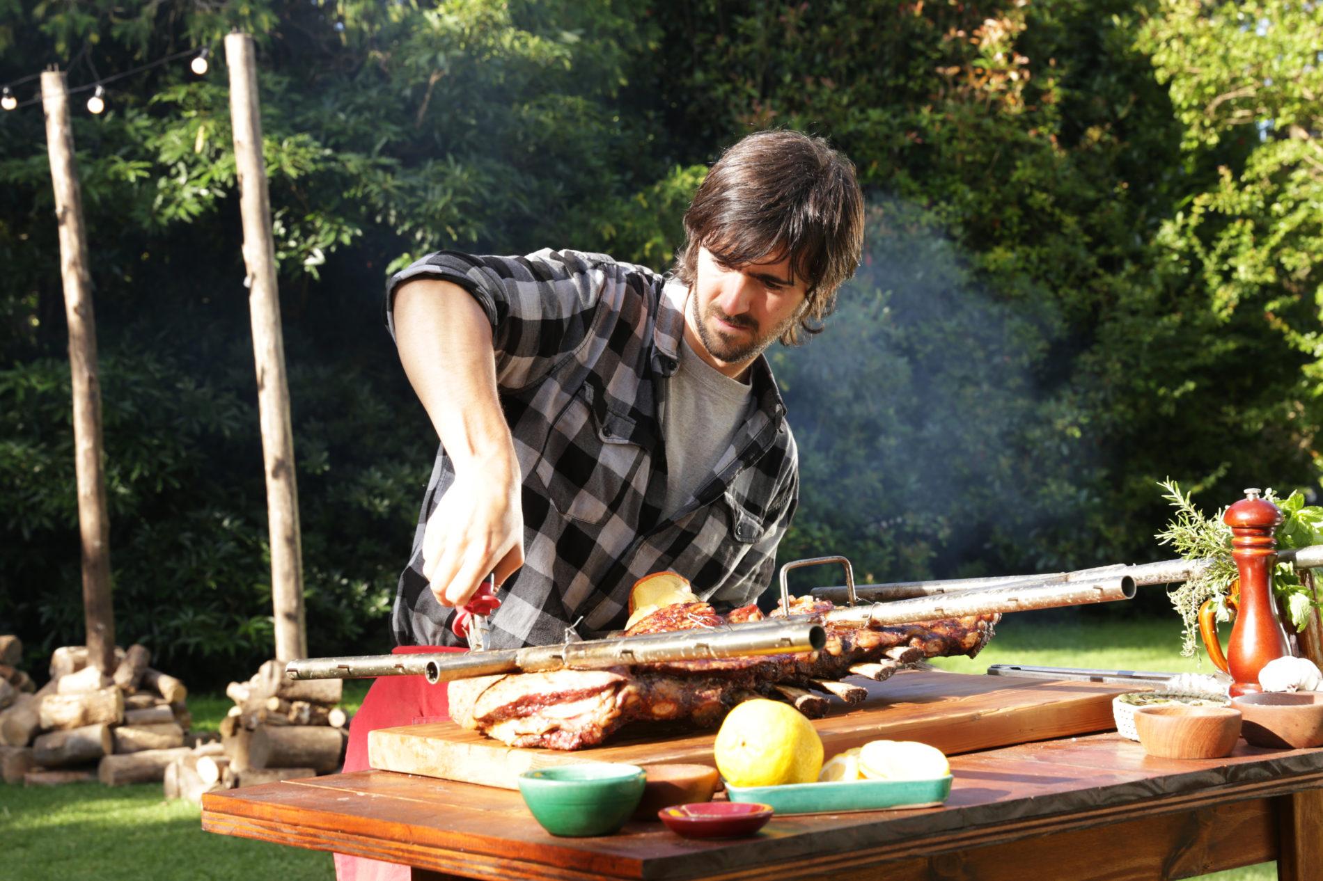 "Chef Luciano, El Laucha, Luchetti: ""Nunca me quedo sin fuego"""