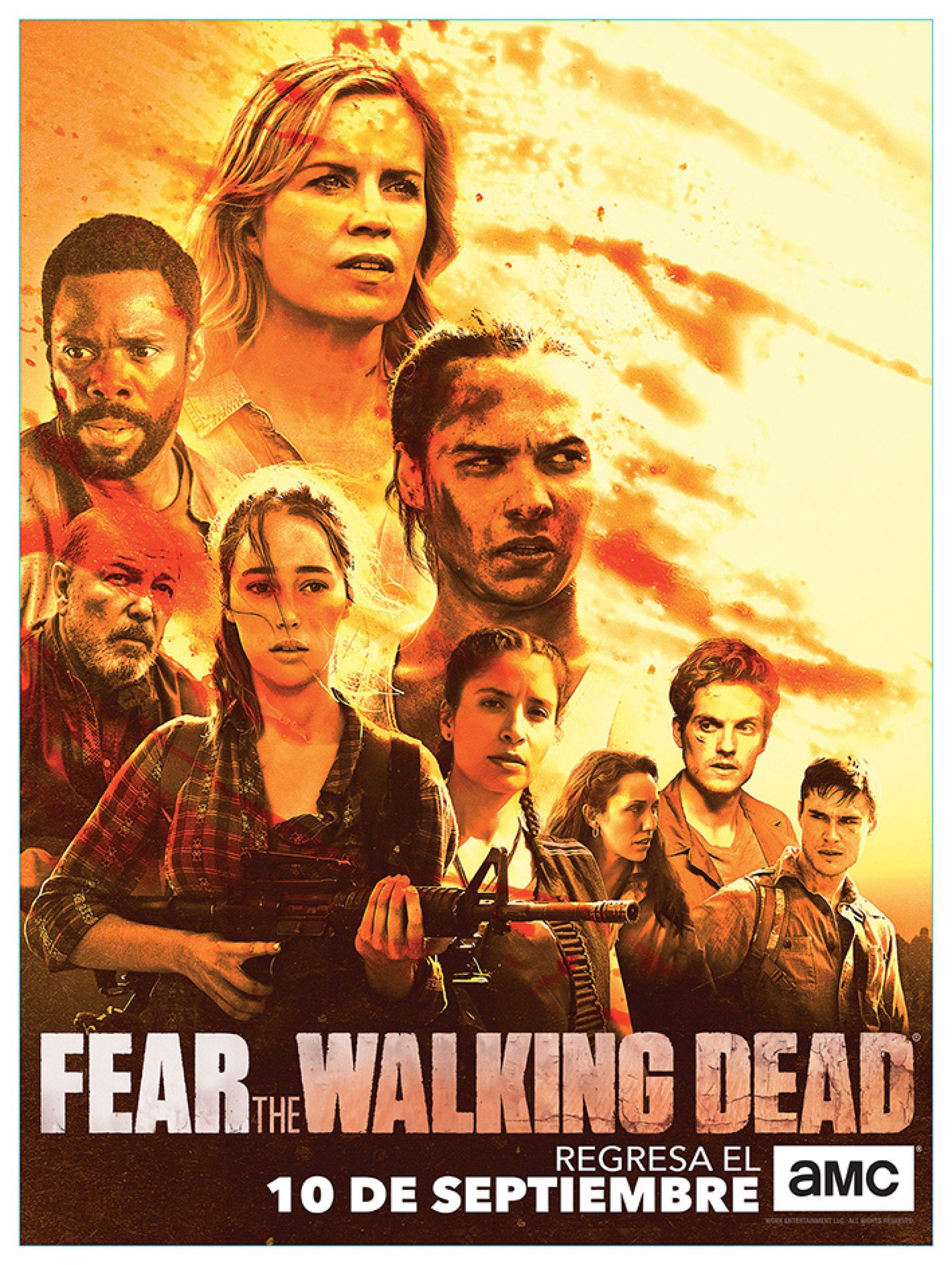 """ESTE DOMINGO, AMC ESTRENA LA SEGUNDA PARTE DE LA TERCERA TEMPORADA DE """"FEAR THE WALKING DEAD"""""""