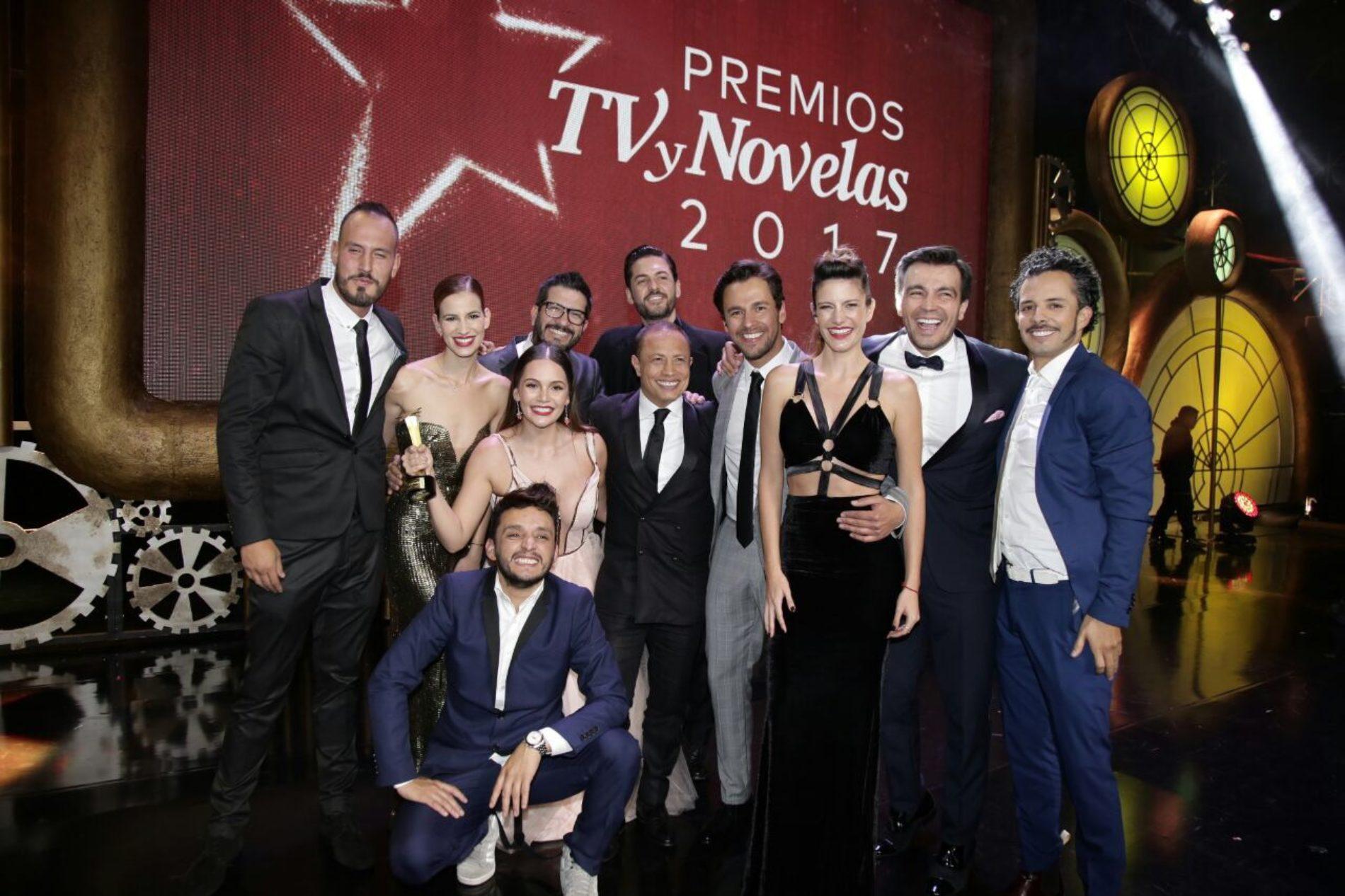 LOS GANADORES DEL TV Y NOVELAS 2017