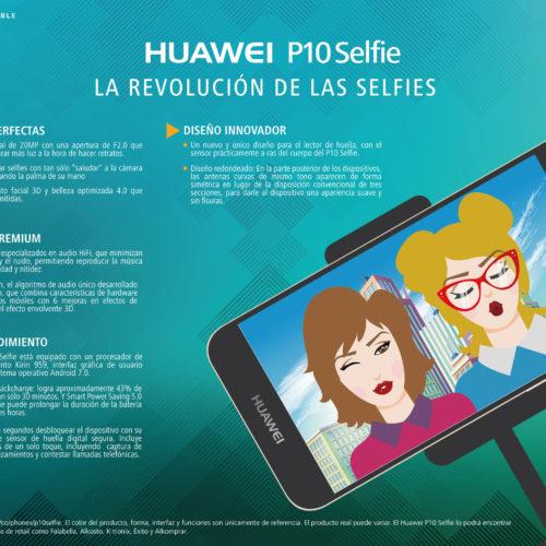 La selfie perfecta es una realidad con el nuevo Huawei P10 Selfie