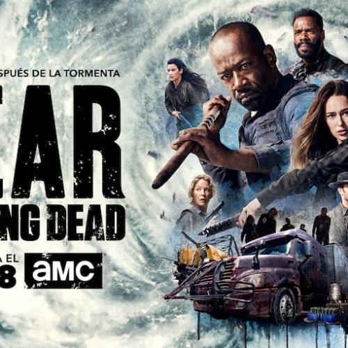 """AMC anuncia que la segunda parte de la cuarta temporada de """"Fear the Walking Dead"""" se estrena el lunes 13 de agosto"""