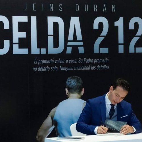CELDA 212, EL LIBRO DE JEINS DURÁN, ESTÁ EN LA FILBO 2019