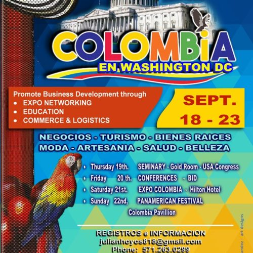 EXPOCOLOMBIA WASHINGTON 2019