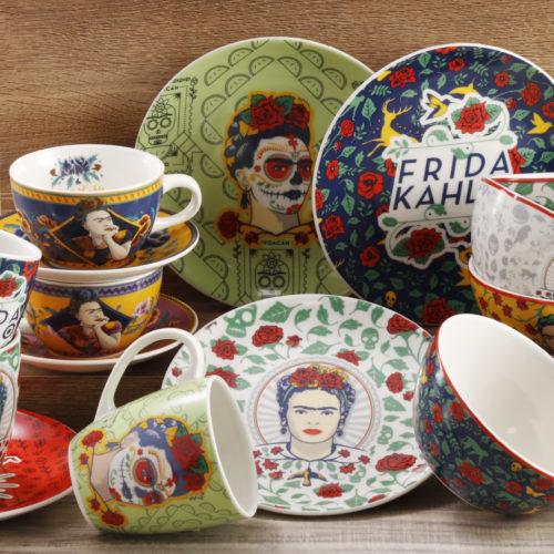 Frida Kahlo, la imagen de la nueva colección de Vajillas Corona