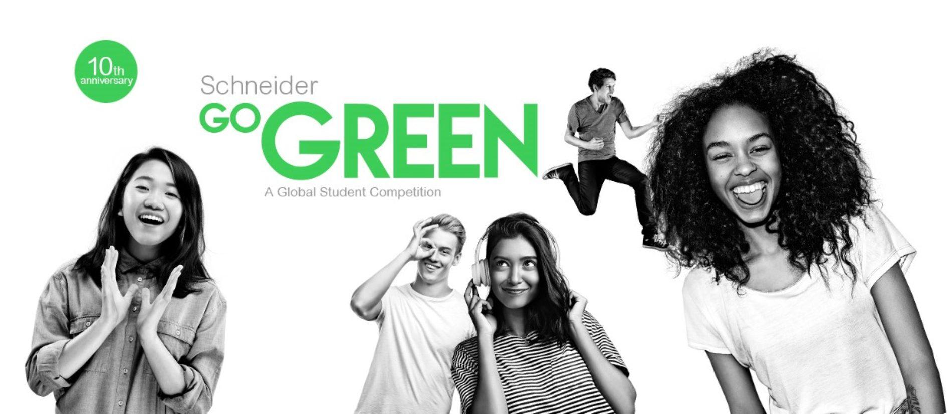Convocatoria para estudiantes colombianos a inscribirse en el Go Green 2020