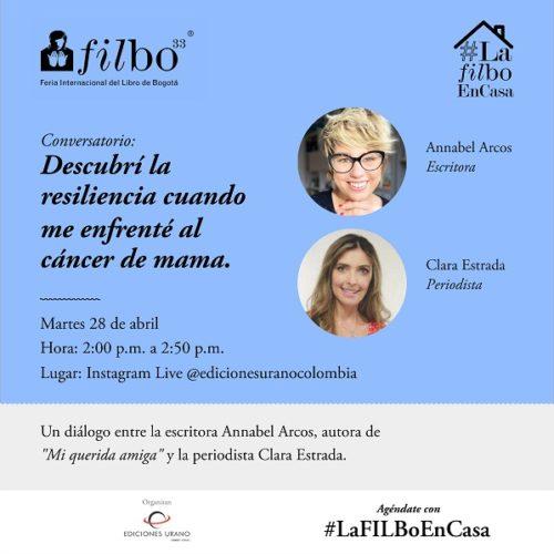 Ediciones Urano te lleva #LaFILBoEnCasa con esta Programación de charlas