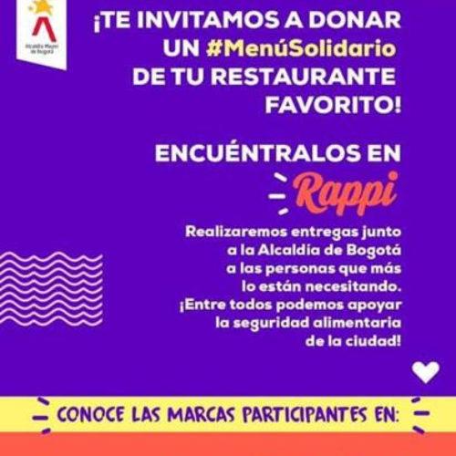 Restauranteros crean #MenúSolidario: alimentos preparados para miles de personas de la economía informal de la ciudad