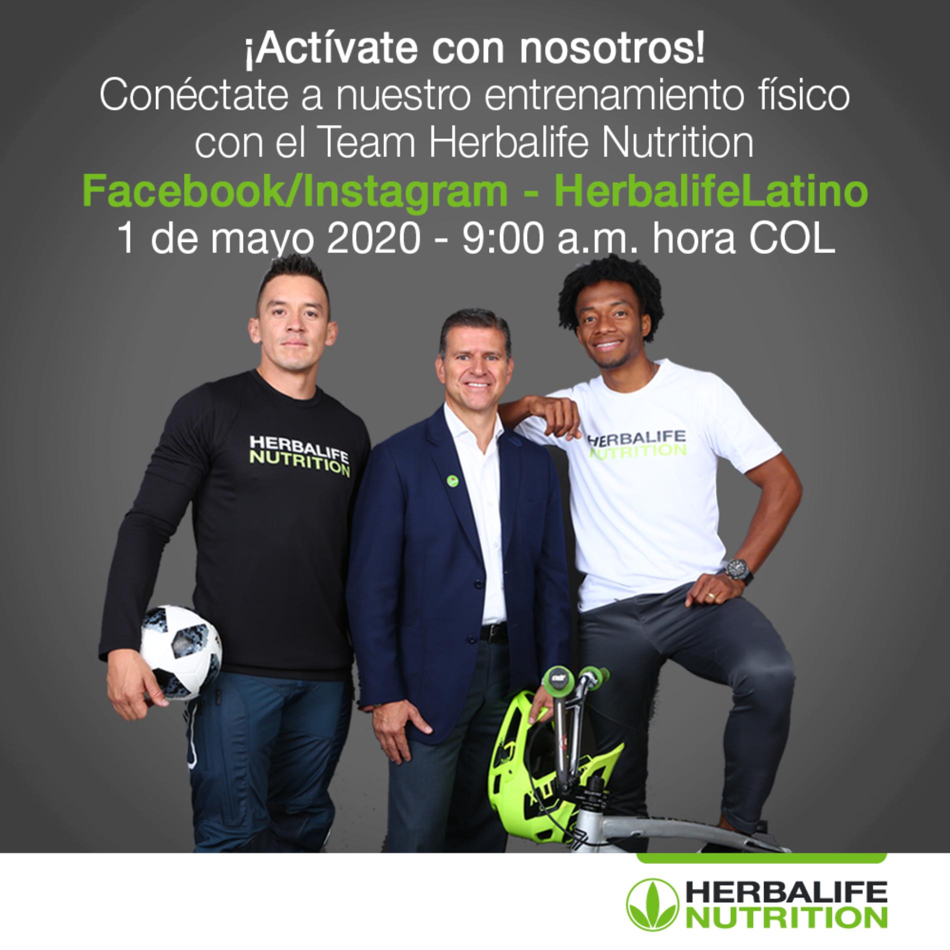 Actividad física en casa con Juan Guillermo Cuadrado, Carlos Mario Oquendo y Ricardo Henao