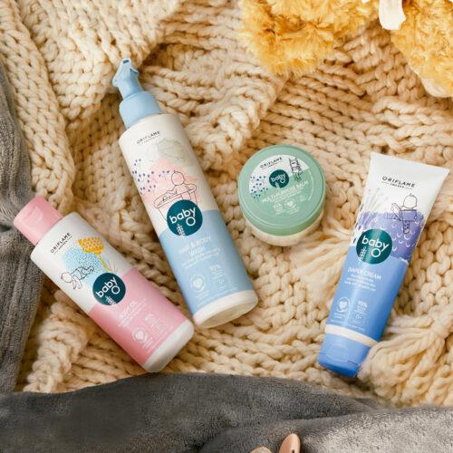 Con productos seguros y naturales Oriflame lanza en Colombialínea para bebés