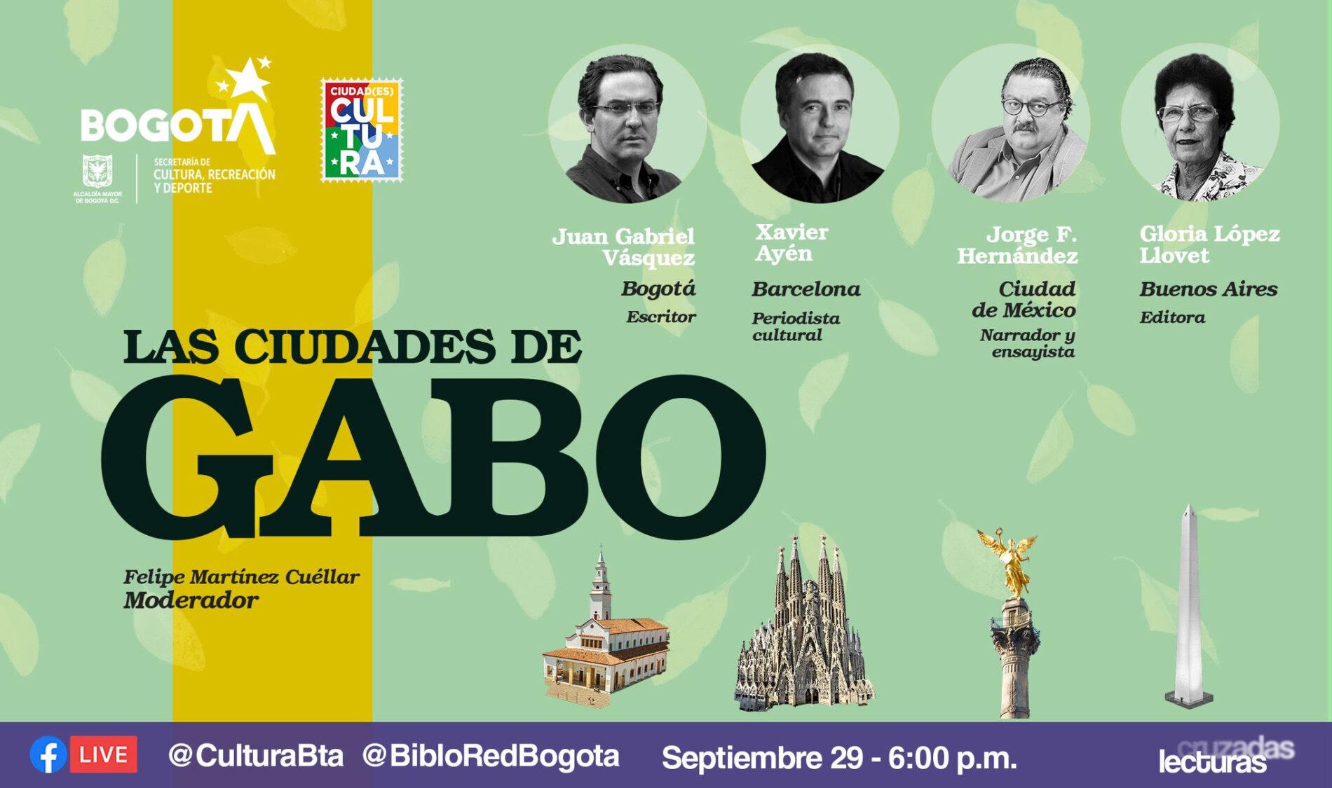 Las ciudades de Gabo, un mapa literario
