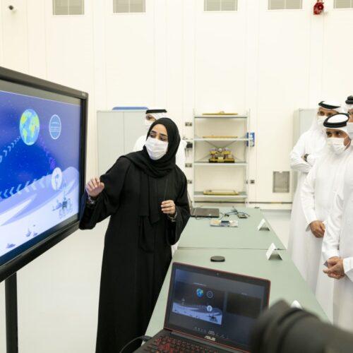 Hamdan bin Mohammed revisa la hoja de ruta de la Misión Lunar de Emiratos