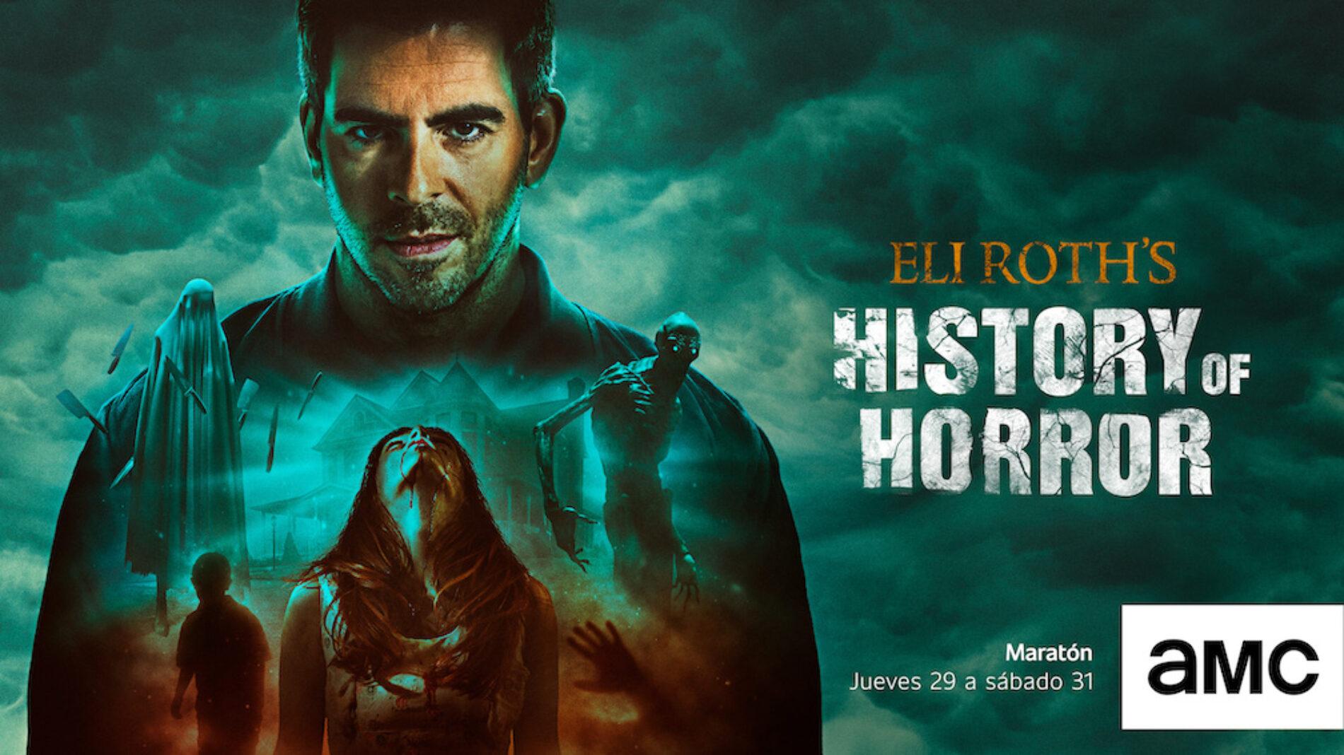"""AMC presenta la segunda temporada de """"Eli Roth's History of Horror"""""""