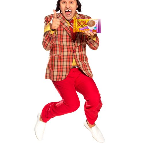 Hassam, el personaje con mejor energía de los colombianos,protagoniza el remake de Día Chocolate Sol