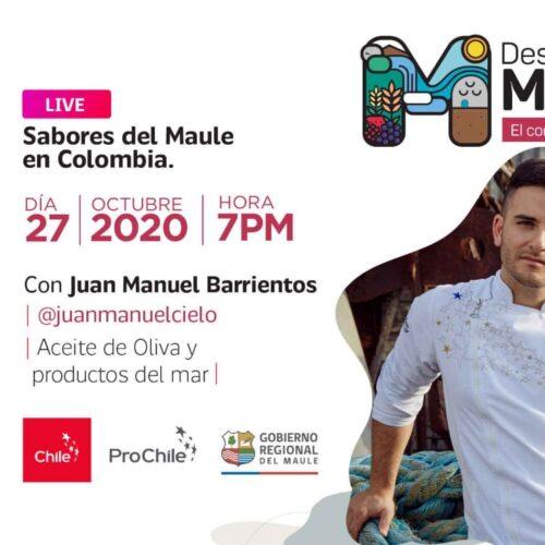 """La región del Maule """"El corazón de Chile"""" fortalece la presencia de sus productos en Colombia"""