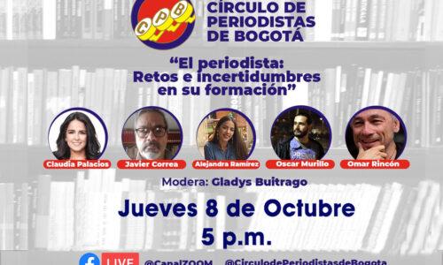Conversatorio CPB: El periodista, retos e incertidumbres en su formación