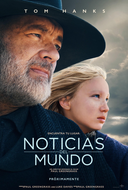 NOTICIAS DEL MUNDO, LA NUEVA PELI DE TOM HANKS