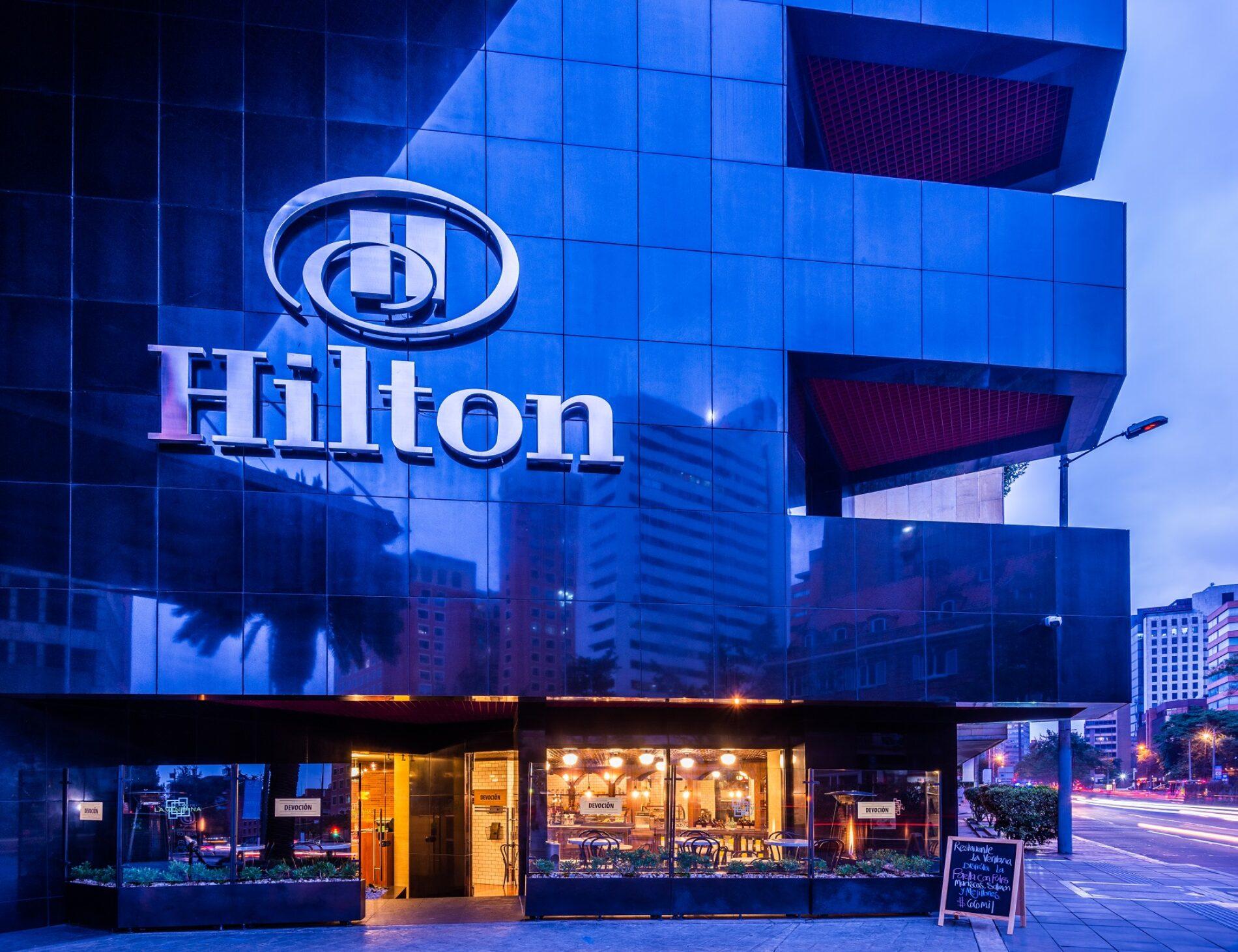 Hotel Hilton Bogotá: declarado como el Destino Líder de Viajes de Negocios