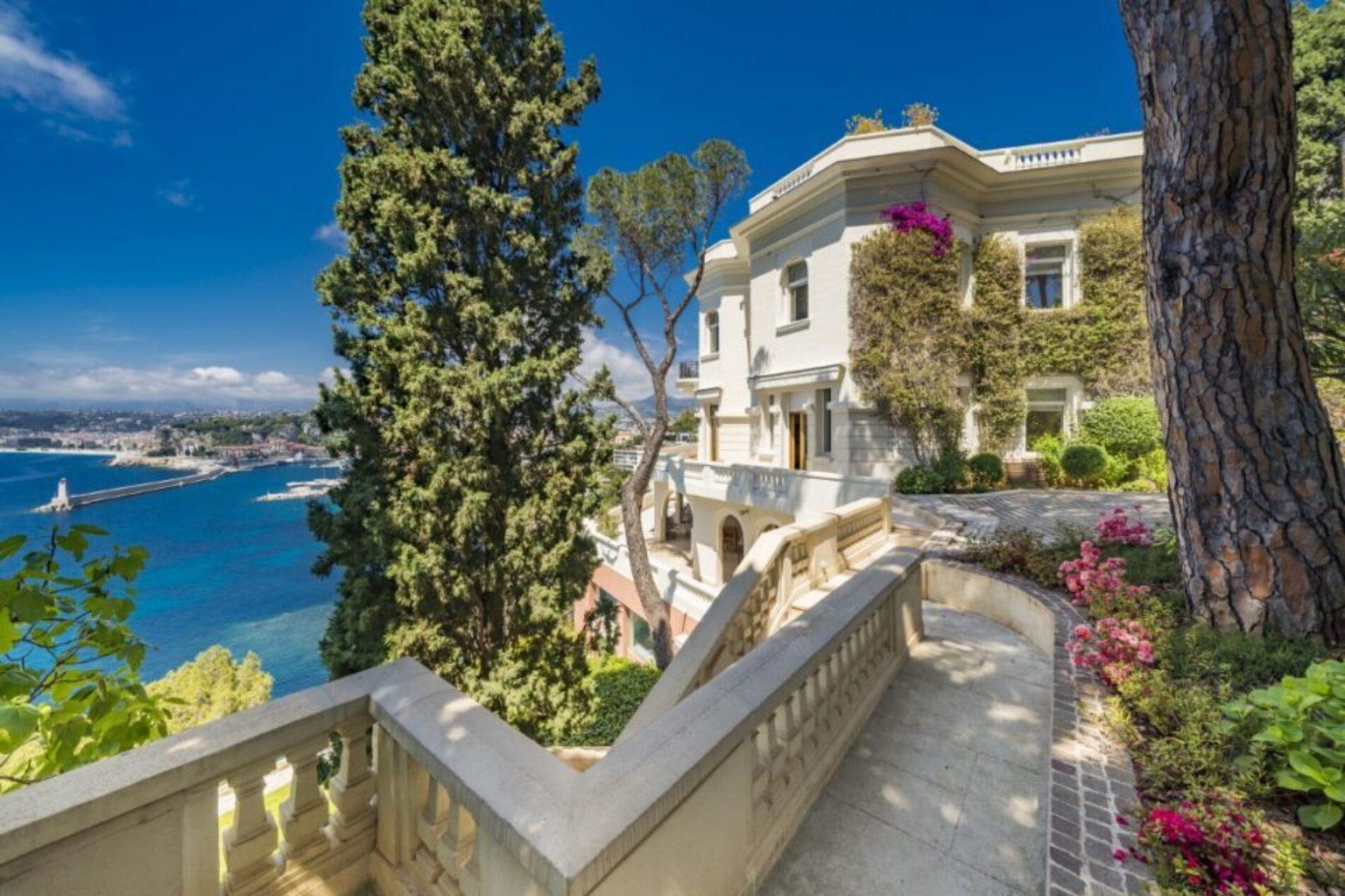 La Villa de Sean Connery en la Riviera francesa