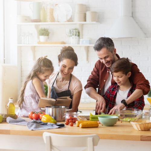 Recetas saludables para toda la familia