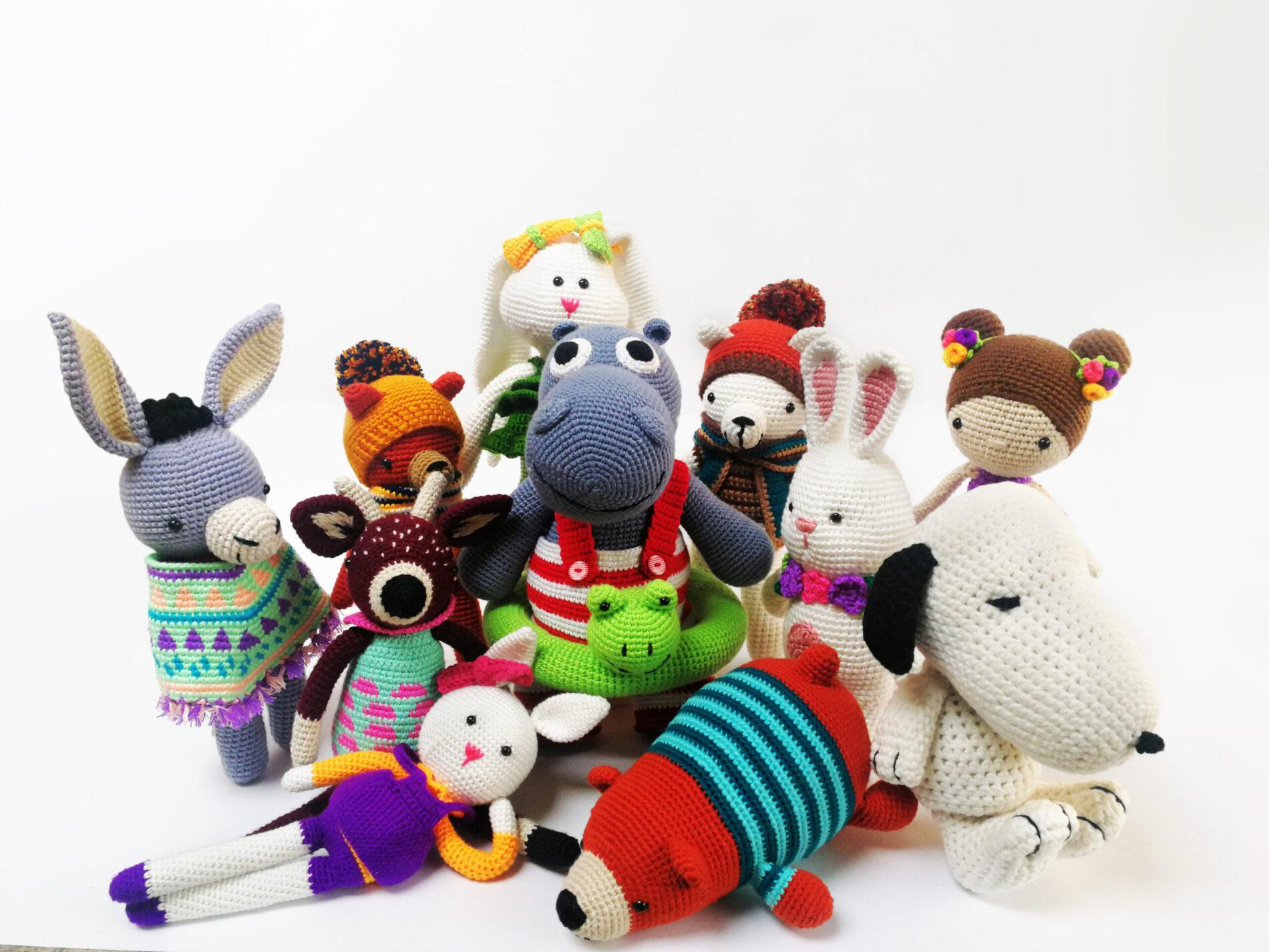 'Guagua', los novedosos muñecos tejidos que marcan tendencia esta temporada