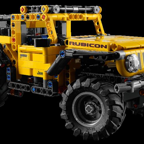 EL NUEVO LEGO® TECHNIC™ JEEP® WRANGLER