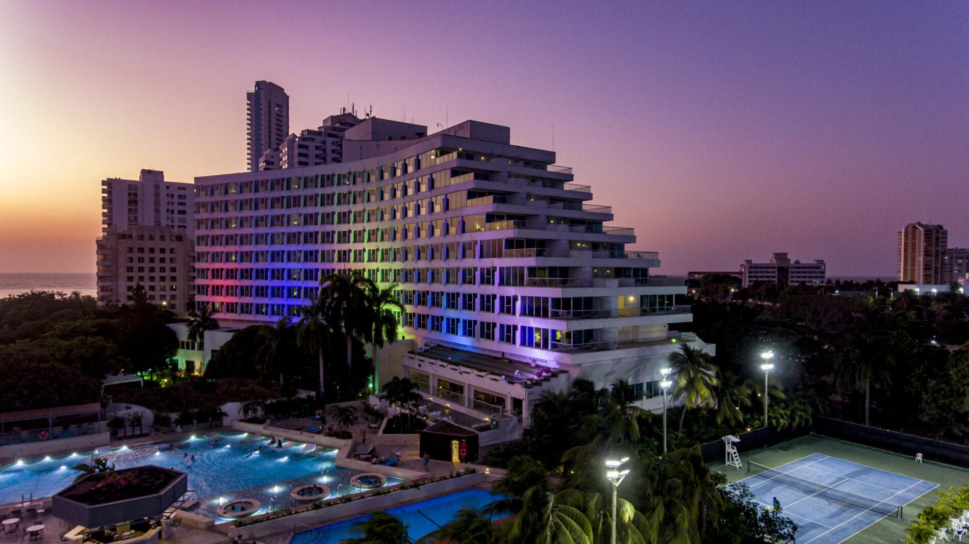 HOTEL HILTON CARTAGENA ELEGANCIA, CONFORT Y EXCLUSIVIDAD