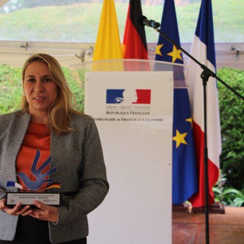 Se entregó el Premio FrancoAlemán de Derechos Humanos Antonio Nariño