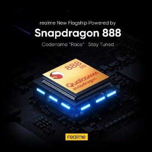 Realme «Race», uno de los primeros smartphones impulsados por el nuevo Snapdragon 888