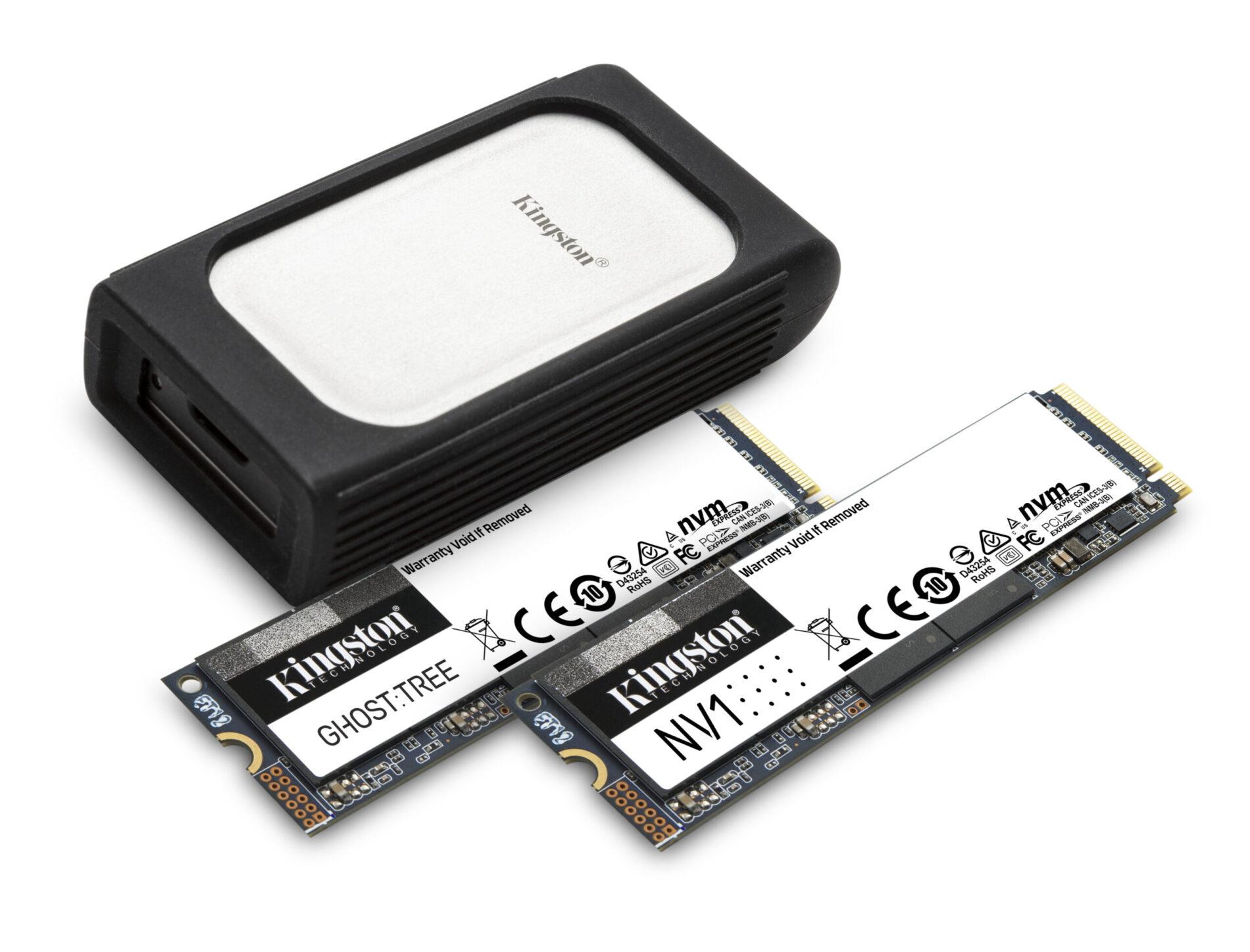 CES 2021: Kingston presenta un avance de su nueva línea de unidades SSD NVMe