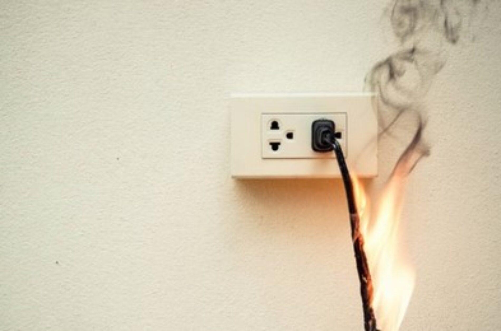 Recomendaciones para evitar incendios por corto circuito