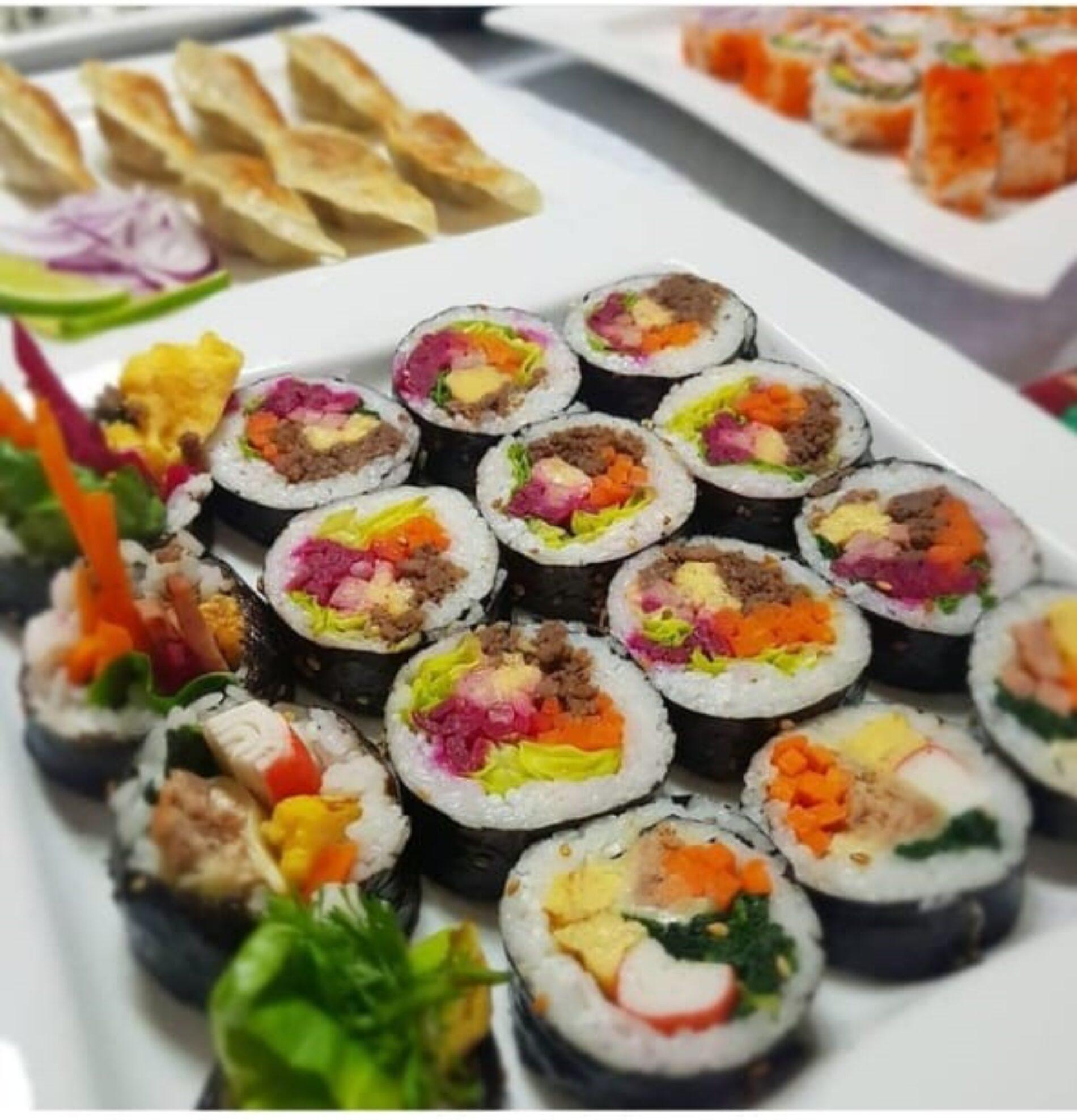 Comida saludable con sabores orientales