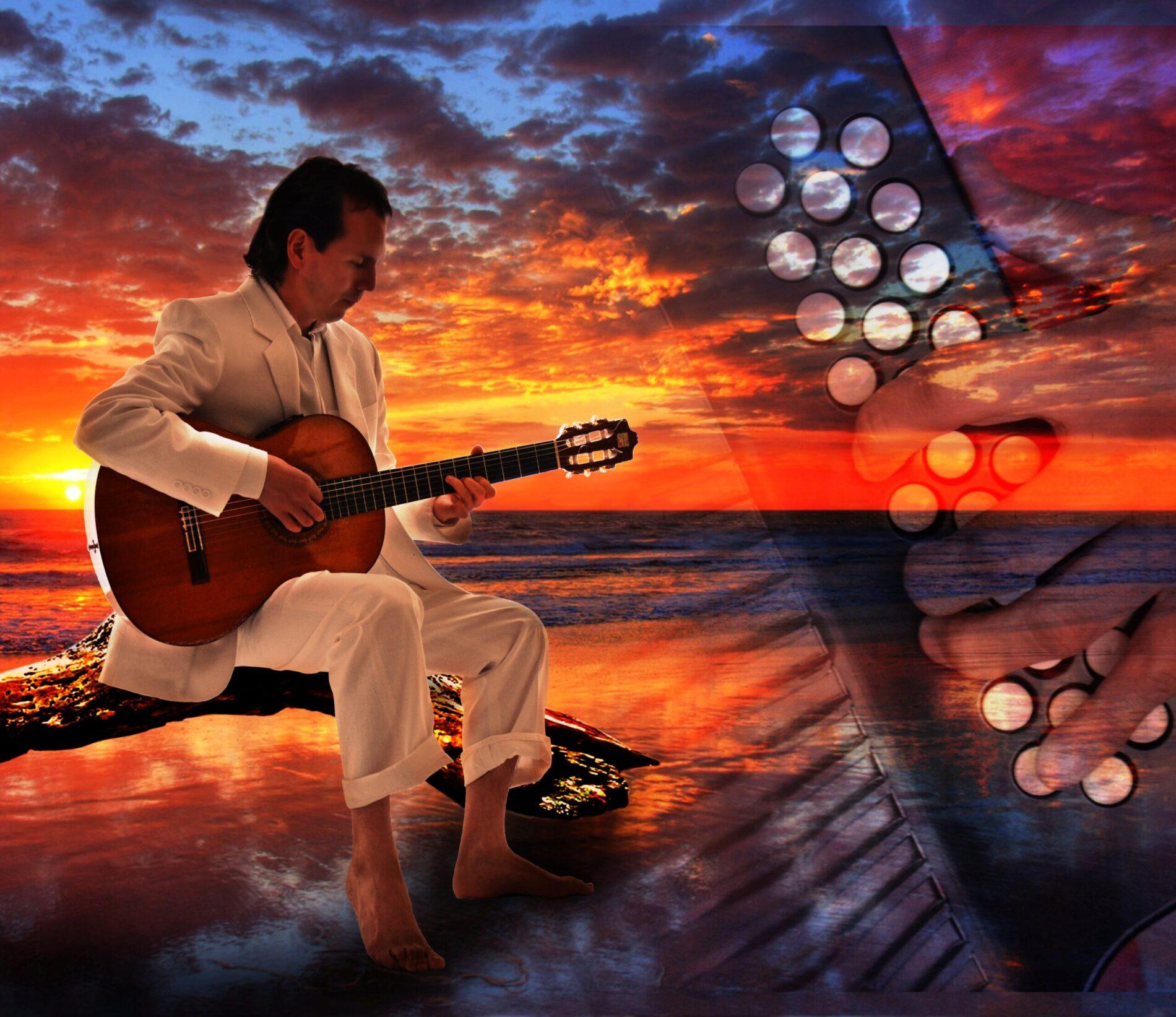 """La versión de """"Hawai"""" en guitarra con el maestro Julián Rodríguez Blanco"""