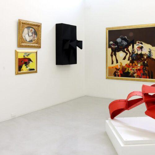 HOMENAJE A OBREGÓN, NEGRET Y GRAU EN LA GALERÍA EL MUSEO
