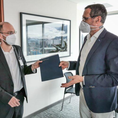 Alemania apoyará hasta 2022 el trabajo académico de CAPAZ sobre Justicia Transicional y Derechos Humanos en Colombia
