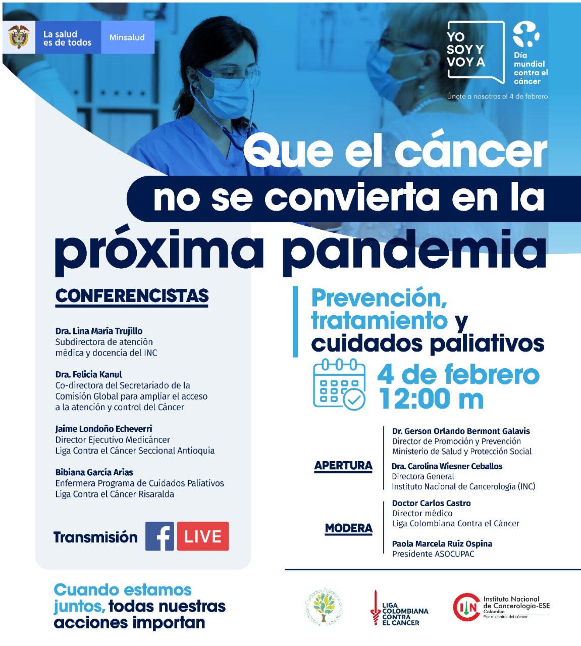 Día Mundial Contra el Cáncer: Que no se convierta en la próxima pandemia
