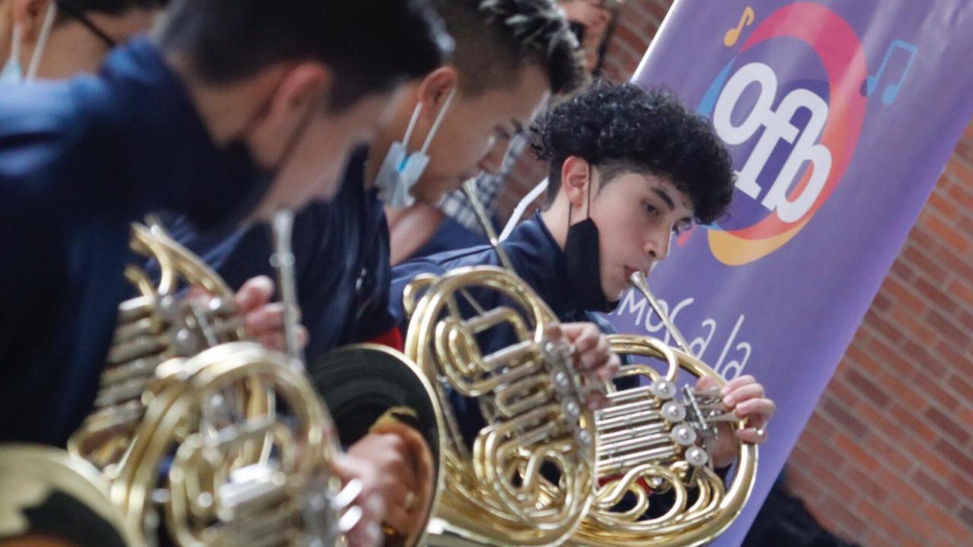 La Orquesta Filarmónica de Bogotá celebra el regreso de la presencialidad a los Centros Filarmónicos Escolares
