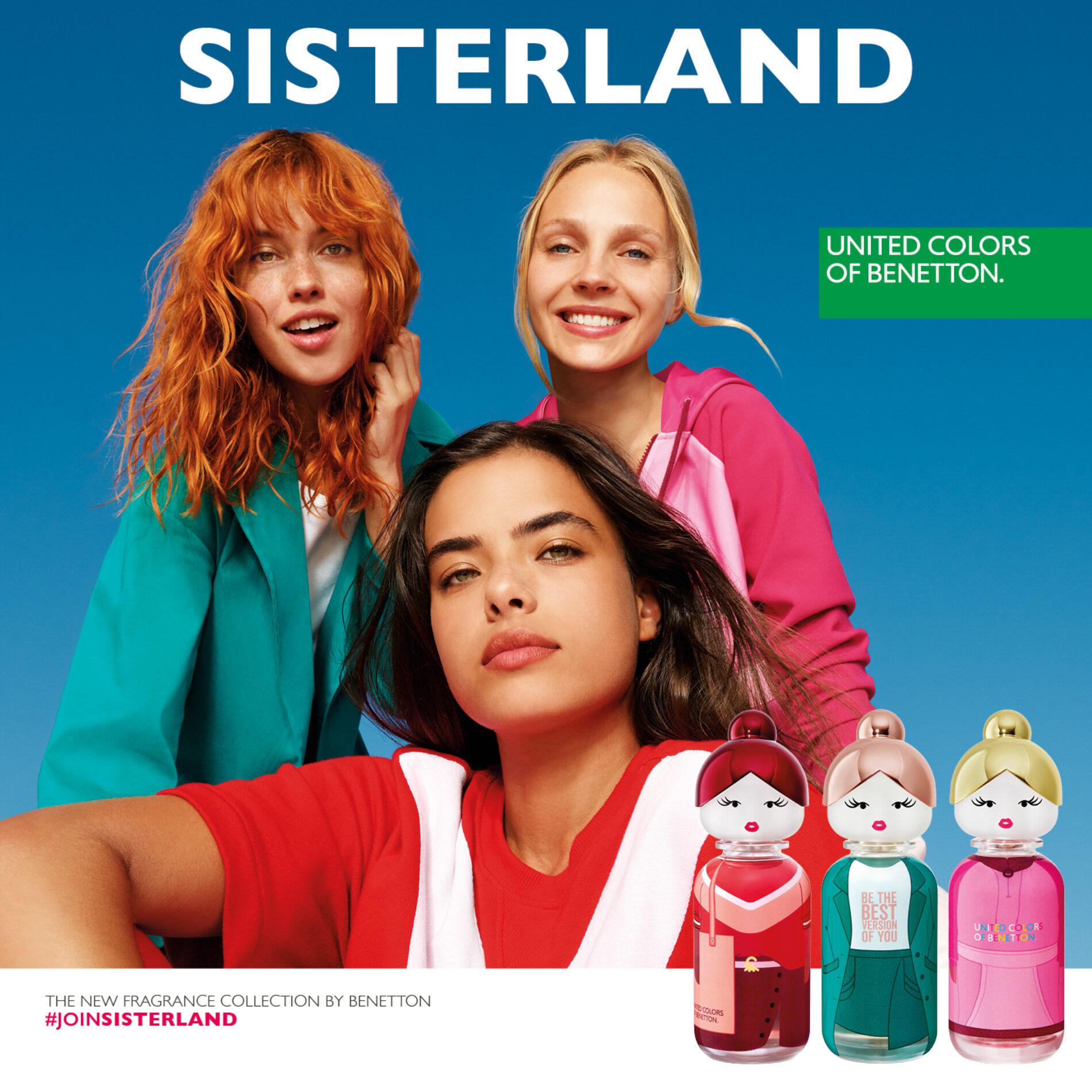 Sisterland, las nuevas fragancias Benetton